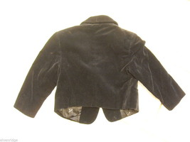 Child's jacket by G.Versace Black Velvet Made in Italy image 2