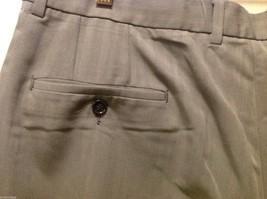 Claiborne Mens Gray Pinstriped Dress Pants, Size 38X32 image 7