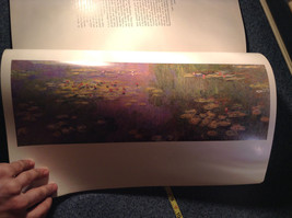 Claude Monet 25 Master Works Large Book Very Very Good Condition Printed 1982 image 12