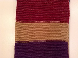 Classic bold broad Stripes in color choice bulk warm circle infinity scarf image 5