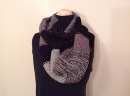 Classic bold broad Stripes in color choice bulk warm circle infinity scarf image 9