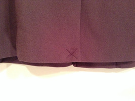Coldwater Creek One Button Closure Violet Lined Blazer Size 14 Two Pockets image 6