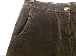 Clothes by H&M Black Wide Legged Velvety 100% Cotton Pants, Size 4 image 6