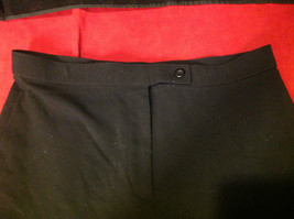 Coldwater Creek Ladies Black Color Pants Size 8 image 2