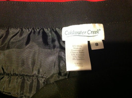 Coldwater Creek Ladies Black Color Pants Size 8 image 3