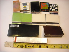 Collection of match boxes and books with unusual designs triangle cigar Camel image 2