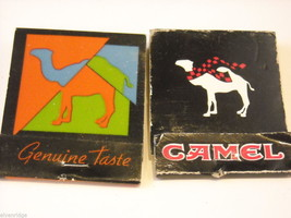 Collection of match boxes and books with unusual designs triangle cigar Camel image 3
