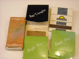 Collection of match boxes and books with unusual designs triangle cigar Camel image 9
