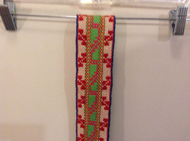Colorful handmade tribal waistband belt or scarf image 7