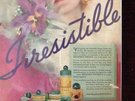 Colorful Vintage Irresistible Perfume Poster 8 Inches by 10 Inches image 5