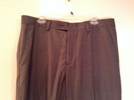 Colours by Alexander Julian Nice Pleated Front Gray Dress Pants Size 36 by 32 image 3