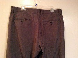 Colours by Alexander Julian Nice Pleated Front Gray Dress Pants Size 36 by 32 image 6