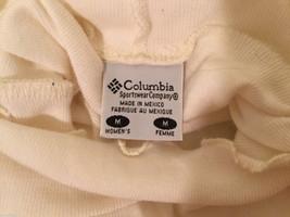 Columbia Womens 100% cotton White Turtleneck Sweater, Size M image 4