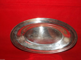 Concord International Silver Company Oval Serving Tray/Dish image 4