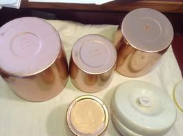 Copper West Bend 8 piece kitchen canister set image 5