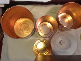 Copper West Bend 8 piece kitchen canister set image 7