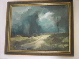 Country Landscape Oil Painting by Waltch image 2