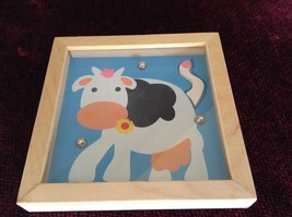 Cow Tip and Tilter Ball Puzzle Collectably Cute Animal Games House of Marbles image 2