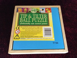 Cow Tip and Tilter Ball Puzzle Collectably Cute Animal Games House of Marbles image 3