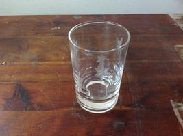 Crystal Juice Glasses Set of Eight Handmade Copper Wheel Engraving image 3