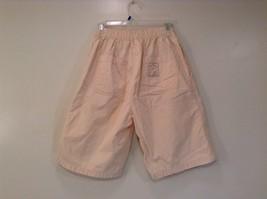 Cream 100 Percent Cotton Chicos Wear Anywhere Shorts One Size Elastic Waist image 2