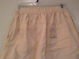 Cream 100 Percent Cotton Chicos Wear Anywhere Shorts One Size Elastic Waist image 5
