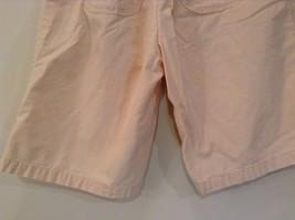 Cream 100 Percent Cotton Chicos Wear Anywhere Shorts One Size Elastic Waist image 6