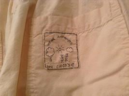 Cream 100 Percent Cotton Chicos Wear Anywhere Shorts One Size Elastic Waist image 7