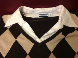 Croft & Barrow Ladies Long Sleeve Brown Sweater with Patterns Size 2X image 5