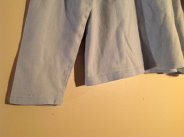 Croft and Barrow Light Blue Long Sleeve Turtleneck Shirt Size Petite Large image 3