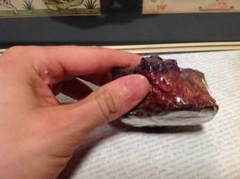 Crystal Gemstone Soap Amethyst Handmade Purple Yellow Red image 4