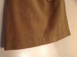 Cute Tan Wool Pencil Skirt from Banana Republic Zipper Closure at Back Size 8 image 3