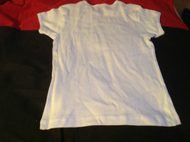Cute Brands White Short Sleeve Shirt Rock Star Dragon on Front Size Small image 9
