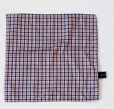 "HAIGHT & ASHBURY  Handkerchiefs POCKET SQUARE POCHETTE CHECK SILK 11"" X ... - $19.75"