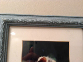 Cute Framed Photo of Kitten in Light Blue Wood Frame by Linda Hubbard image 5