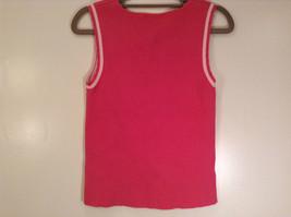 Cute Pink  Sleeveless Tank Top Ann Taylor Loft Size Medium image 4