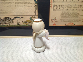 Cute Porcelain Angel Figurine Holding Sign Its a Girl Growing in Grace image 5