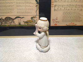 Cute Porcelain Angel Figurine Holding Sign Its a Girl Growing in Grace image 3