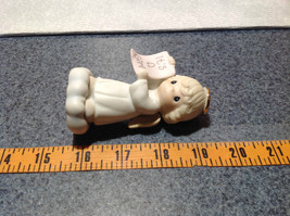 Cute Porcelain Angel Figurine Holding Sign Its a Girl Growing in Grace image 8
