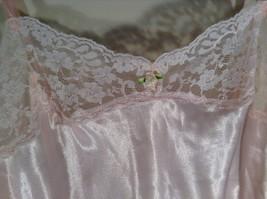 Cute Victoria secret Pink Lingerie Slip Spaghetti Straps Measurements Below image 4