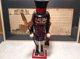 Cute Vintage Nutcracker Soldier Holding Axe and Lantern image 7
