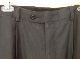 Dark Gray Dress Pants by Perry Ellis Portfolio Front Back Pockets Size 36 by 30 image 3
