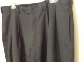 Dark Gray Dress Pants by Perry Ellis Portfolio Front Back Pockets Size 36 by 30 image 2