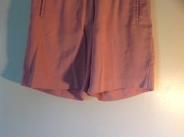 Cutter Buck Light Pink Size 6 Dress Shorts Button Zipper Closure 2 Front Pockets image 3
