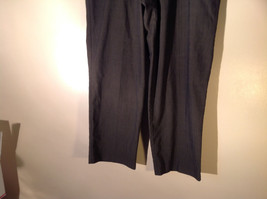 DOCKERS Premium Khaki Gray Flat Front Relaxed Fit Dress Pants Size 34 by 30 image 3
