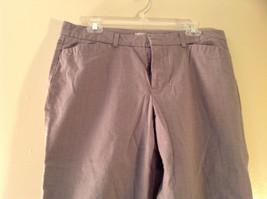 DOCKERS Size 14 Plaid Capri Pants Excellent Condition image 2