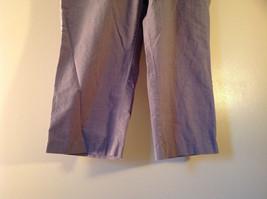 DOCKERS Size 14 Plaid Capri Pants Excellent Condition image 3
