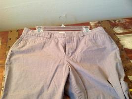 DOCKERS Size 14 Plaid Capri Pants Excellent Condition image 6