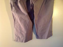 DOCKERS Size 14 Plaid Capri Pants Excellent Condition image 5