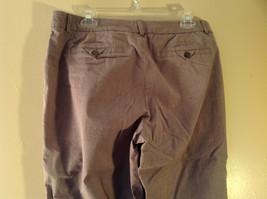 DOCKERS Size 14 Plaid Capri Pants Excellent Condition image 4